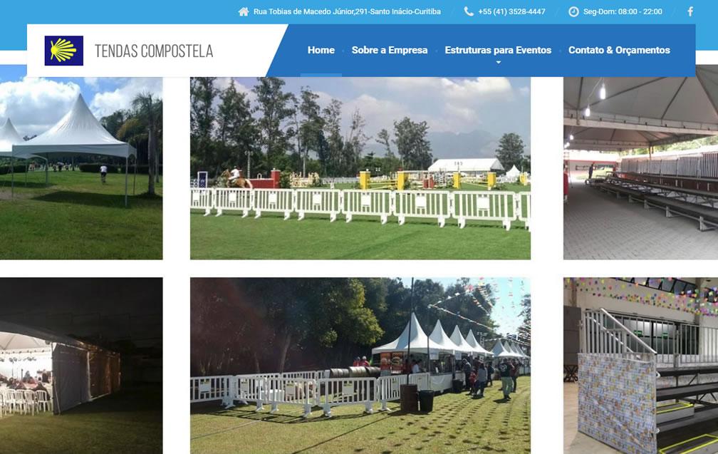 Tendas Compostela – Site novo!