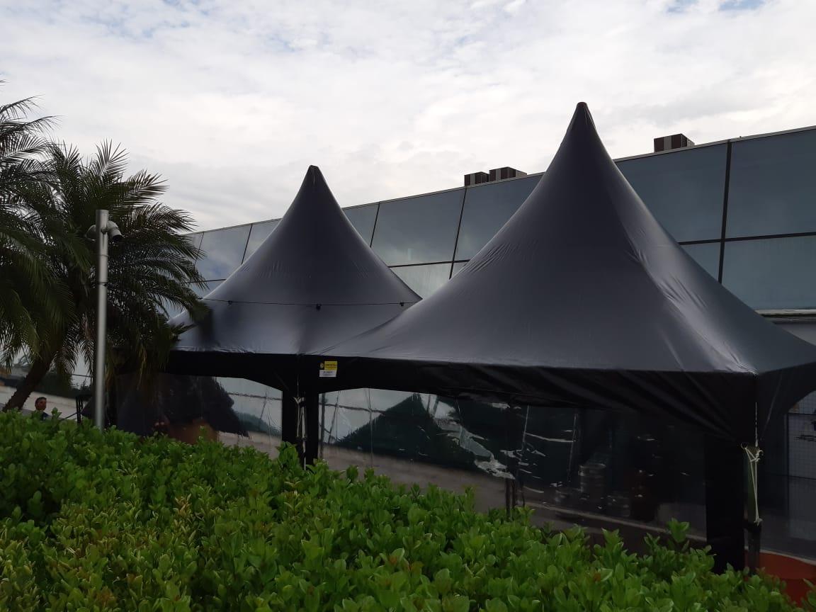Novidade Tendas Compostela: Tendas 4×4 linha black