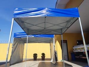 tendas 2x2 e 3x3 metros curitiba